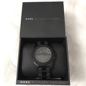 Marc Jacobs Black Pelly Watch
